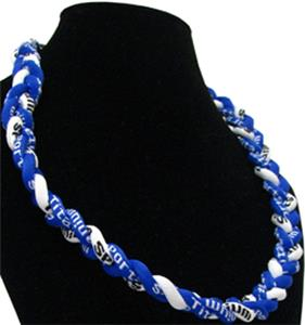 Titanium Blue/White Sport Necklaces