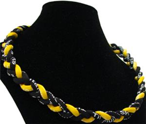 Titanium Black/Gold Sport Necklaces