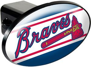 MLB Atlanta Braves Trailer Hitch Cover