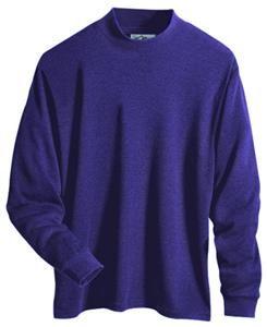 TRI MOUNTAIN Alumnus Interlock Mock Turtleneck