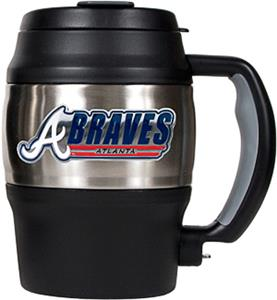 MLB Atlanta Braves 20oz. Stainless Steel Mini Jug