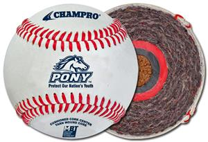Pony Official League Baseballs CBB-300PL