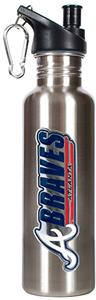 MLB Atlanta Braves 26oz Stainless Water Bottle