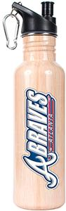 MLB Atlanta Braves 26oz Baseball Bat Water Bottle