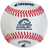 Pony League Raised Seam Baseballs CBB-200PL