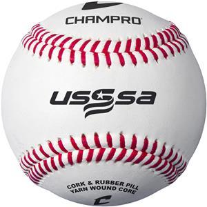 Champro CBB-200US USSSA Game Baseballs