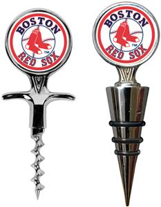 MLB Boston Red Sox Cork Screw & Bottle Topper