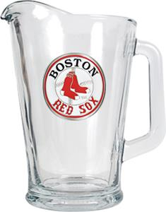 MLB Boston Red Sox 1/2 Gallon Glass Pitcher
