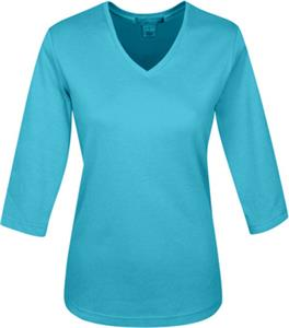 TRI MOUNTAIN Women's Mystique 3/4-Sleeve Knit Top