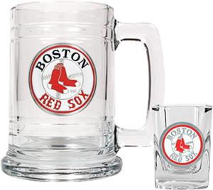 MLB Boston Red Sox Boilermaker Gift Set