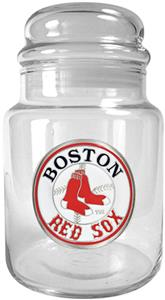 MLB Boston Red Sox Glass Candy Jar