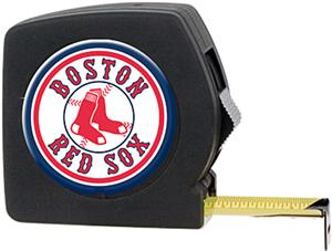 MLB Red Sox 25' Tape Measure w/Crystal Coat Logo