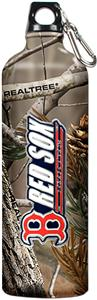 MLB Red Sox 32oz RealTree Aluminum Water Bottle