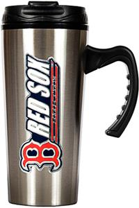 MLB Boston Red Sox Stainless Steel 16oz Travel Mug