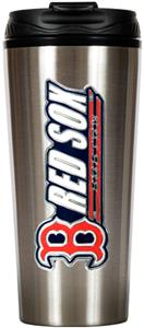 MLB Red Sox 16oz Stainless Steel Travel Tumbler