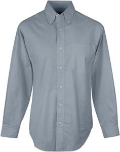 TRI MOUNTAIN Techno Long Sleeve Oxford Dress Shirt