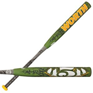 Worth 454 Mutant USSSA Slowpitch Softball Bats
