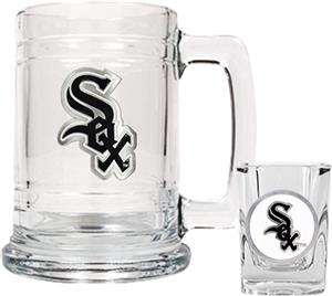 MLB Chicago White Sox Boilermaker Gift Set