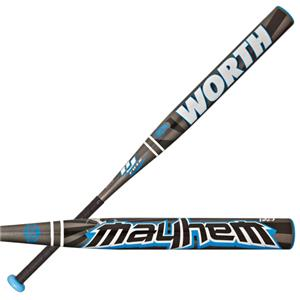 Worth Mayhem BJ Fulk USSSA Slowpitch Softball Bats