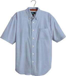 TRI MOUNTAIN Retro Short Sleeve Oxford Dress Shirt