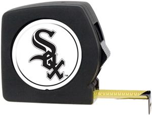 MLB White Sox 25' Tape Measure w/Crystal Coat Logo