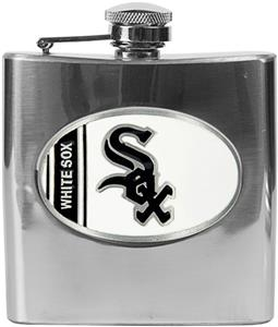 MLB Chicago White Sox 6oz Stainless Steel Flask