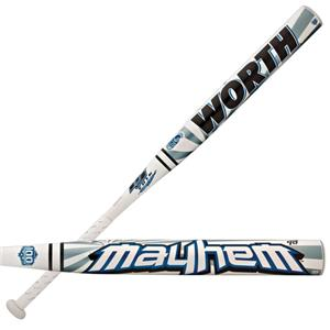 Worth BJ Fulk Mayhem ASA Slowpitch Softball Bats