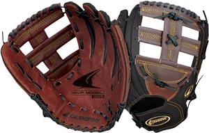 Reinforced T Bar Open Web MVP Baseball Gloves