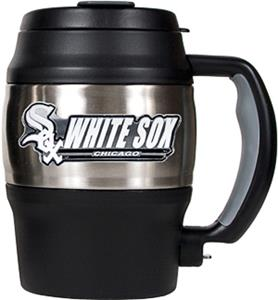 MLB White Sox 20oz. Stainless Steel Mini Jug
