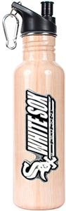 MLB White Sox 26oz Baseball Bat Water Bottle