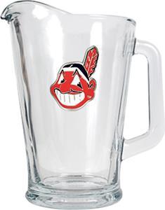 MLB Cleveland Indians 1/2 Gallon Glass Pitcher