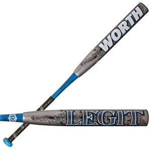 Worth Legit 454 Fastpitch -10 Softball Bats