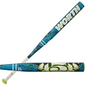 Worth 454 Legit Fastpitch -8 Softball Bats