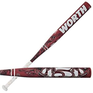Worth 454 Legit Fastpitch -9 Softball Bats