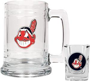 MLB Cleveland Indians Boilermaker Gift Set
