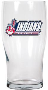 MLB Cleveland Indians 20oz Pub Glass