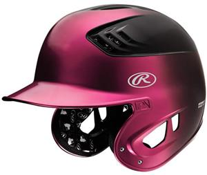 COOLFLO XV1 2-Tone Metallic Finish Batting Helmets