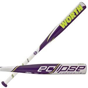 Worth Eclipse Comp -12 Fastpitch Softball Bats