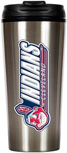 MLB Indians 16oz Stainless Steel Travel Tumbler