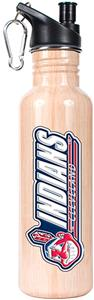 MLB Indians 26oz Baseball Bat Water Bottle