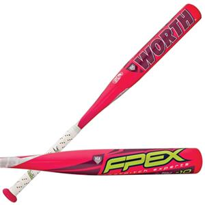 Worth FPEXR -10 Fastpitch Softball Bats