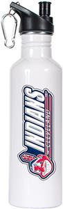 MLB Indians 26oz White Stainless Water Bottle