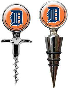 MLB Detroit Tigers Cork Screw & Bottle Topper