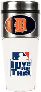 MLB Detroit Tigers Gameball Travel Tumbler