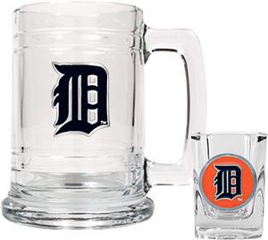 MLB Detroit Tigers Boilermaker Gift Set
