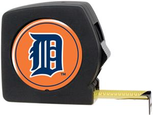 MLB Tigers 25' Tape Measure w/Crystal Coat Logo