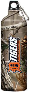 MLB Tigers 32oz RealTree Aluminum Water Bottle