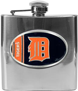 MLB Detroit Tigers 6oz Stainless Steel Flask