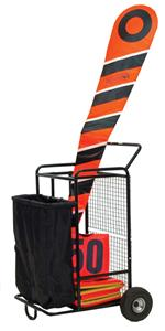 Champion Sports Football Equipment Cart