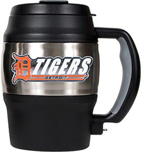 MLB Tigers 20oz. Stainless Steel Mini Jug
